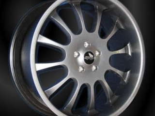 Forged alloy wheel, 12 spoke