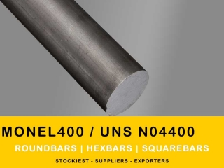 Monel Alloy 400 Rods & Roundbars | Stockiest and Supplier