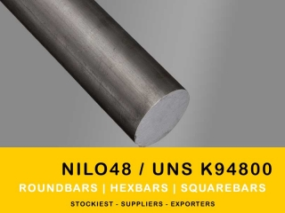 Nilo 48 Alloy Roundbars | Manufacturer,Stockiest and Supplier
