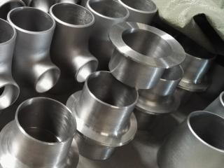 Titanium stub ends